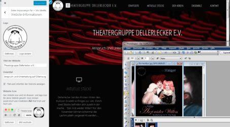 Eine neue Homepage erhebt sich
